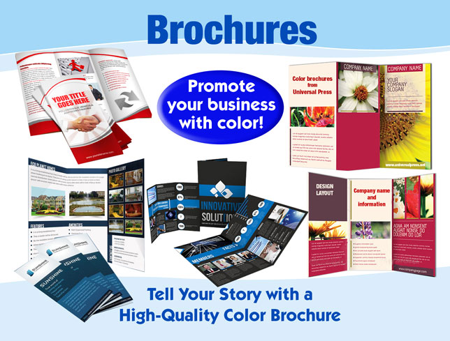 printing press brochure template - print universal press inc print copy center
