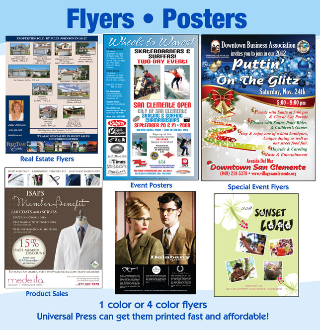 flyers posters universal press inc print copy center